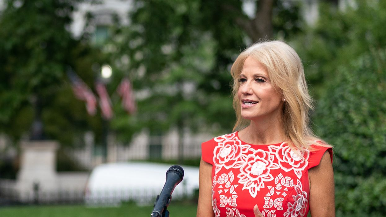 New filings reveal Kellyanne Conway is still raking in cash on the GOP payroll — but for what?