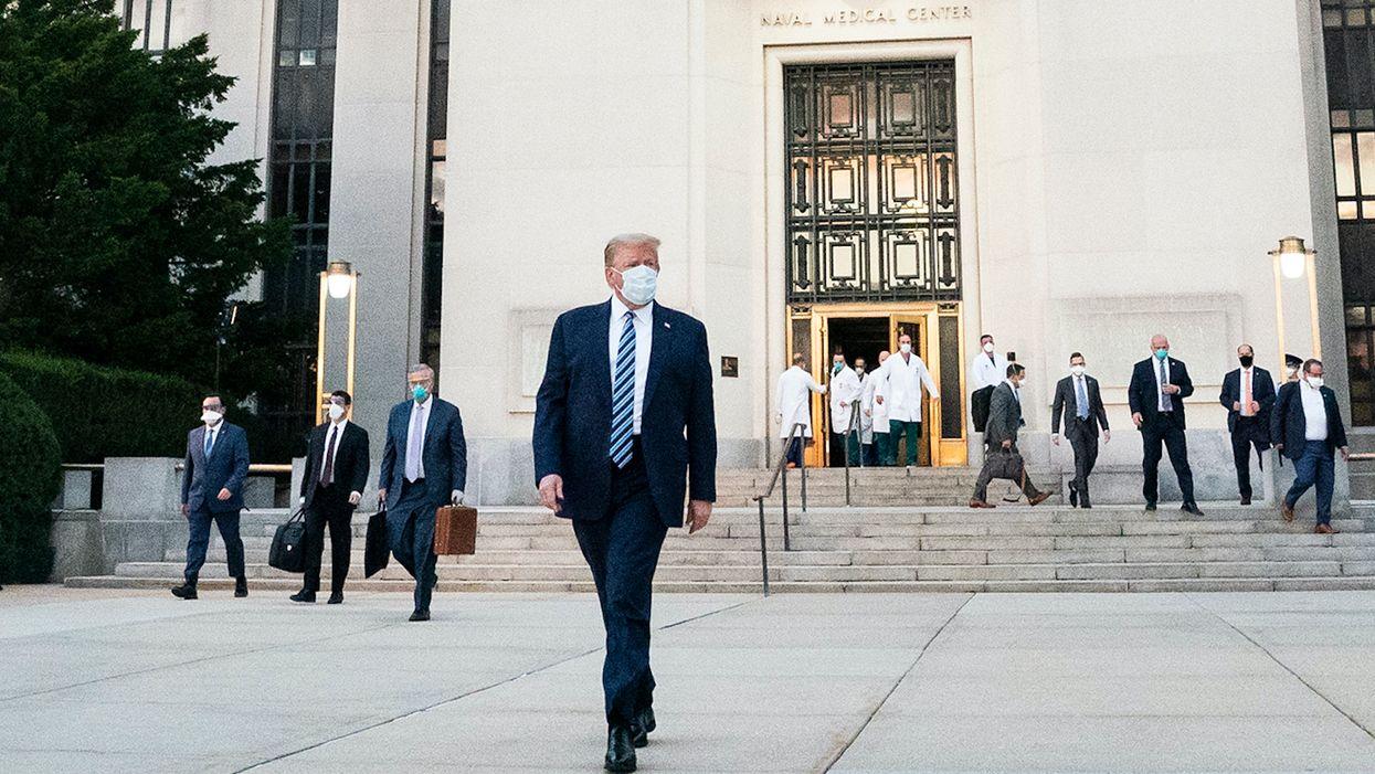 Secretly-filmed documentary details Trump's colossal COVID-19 failures