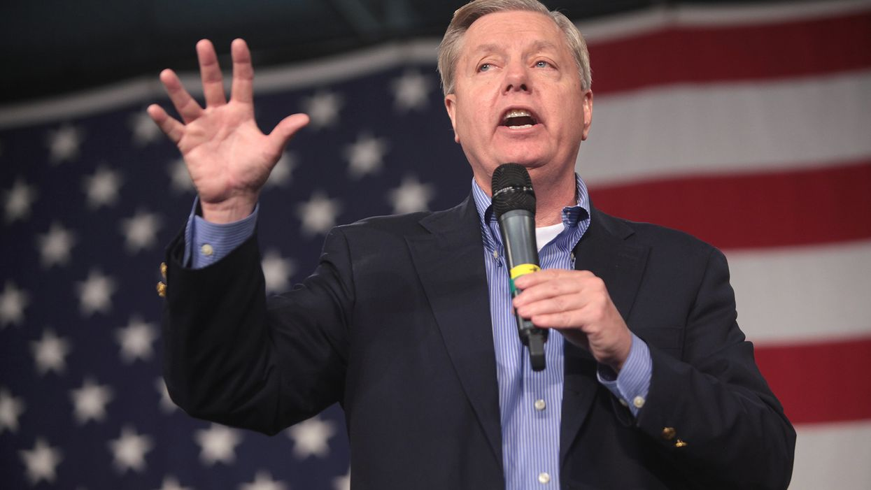Trump's collapsing campaign is crippling Lindsey Graham's re-election prospect: report