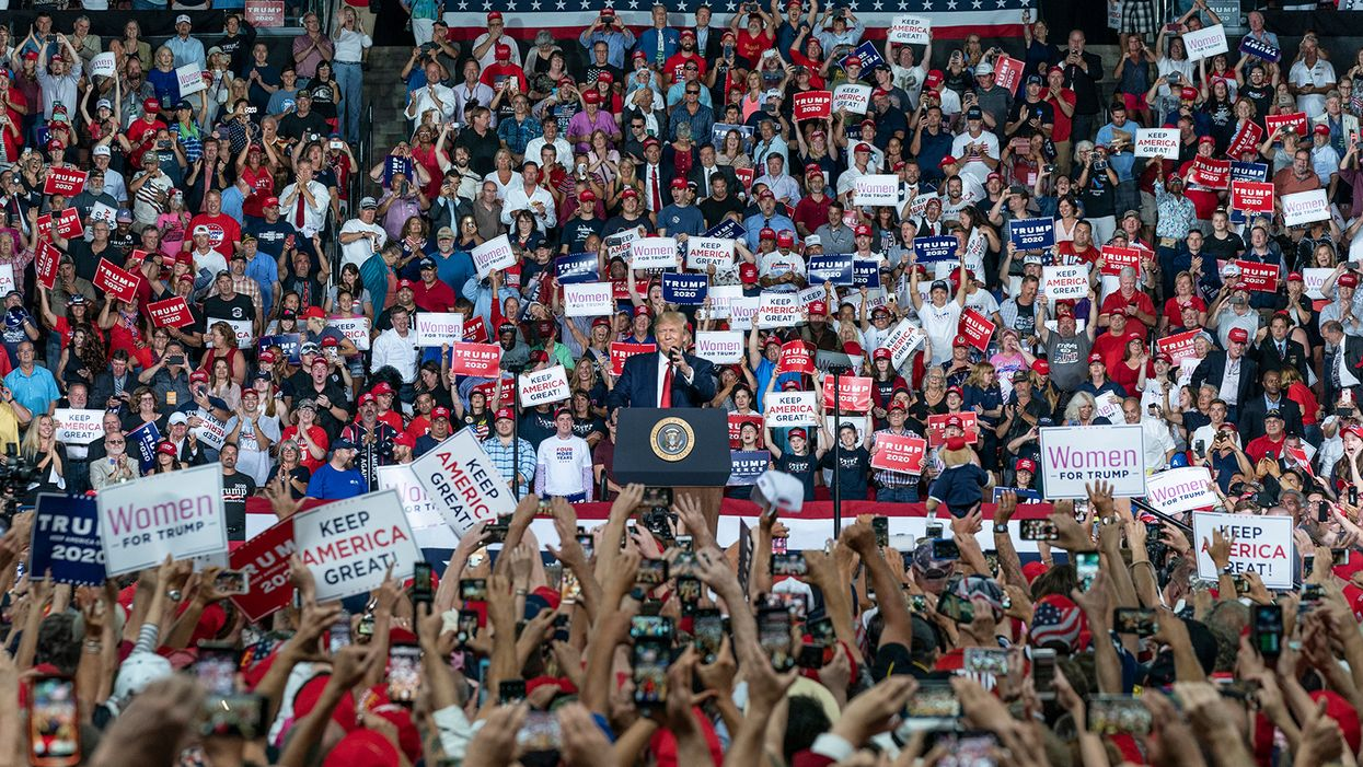 'The last stand of a demagogue' — Rowdy MAGA rallies are Trump's 'last best hope of clinging to the presidency': journalist