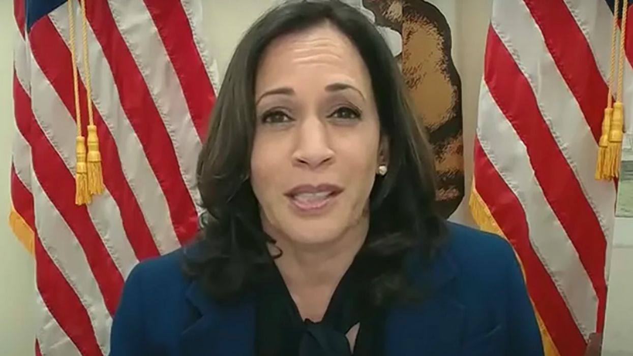Kamala Harris team strikes back after David Perdue's 'incredibly racist' attack on her name