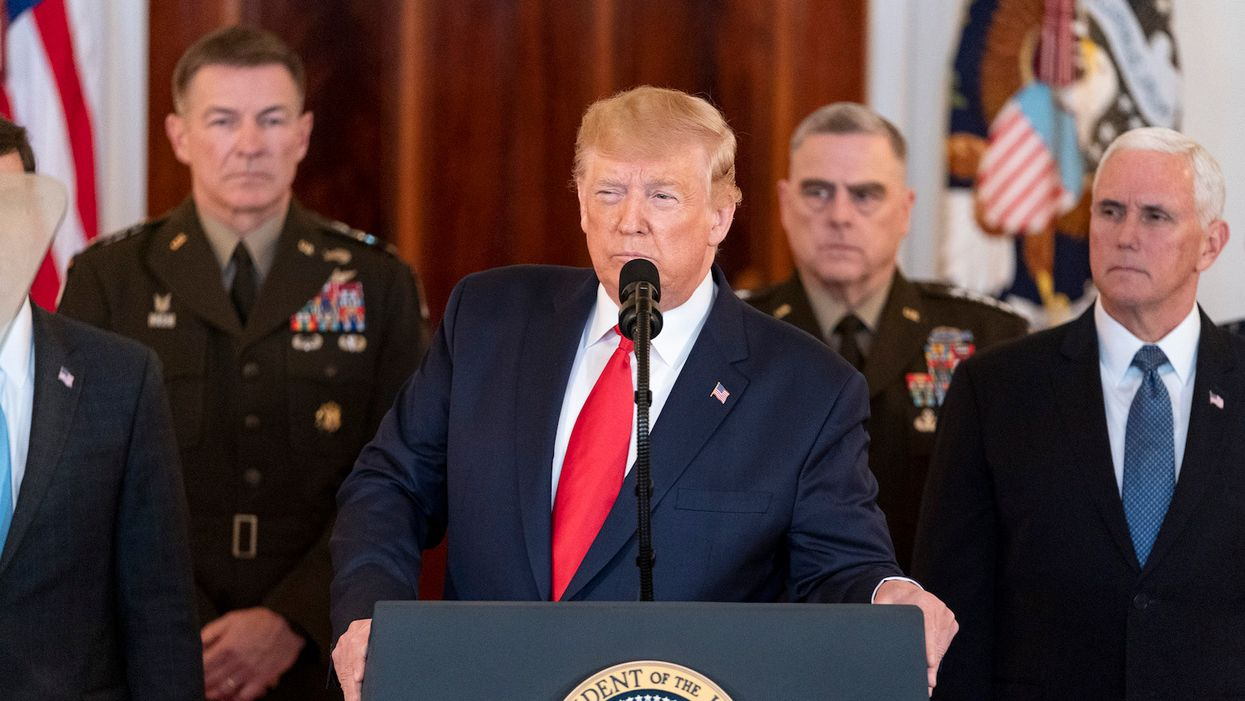 Trump's true legacy is that of a warmonger