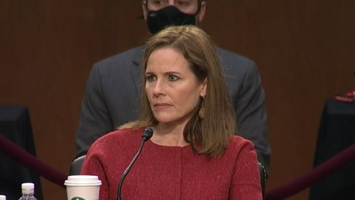 Amy Coney Barrett's position on Obamacare is quite literally unbelievable