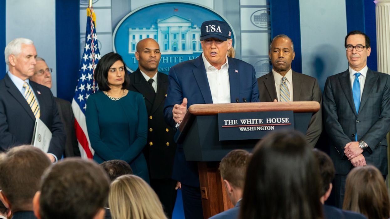 Trump blasted by his own White House experts for 'mind-boggling' claim he ended COVID-19 pandemic