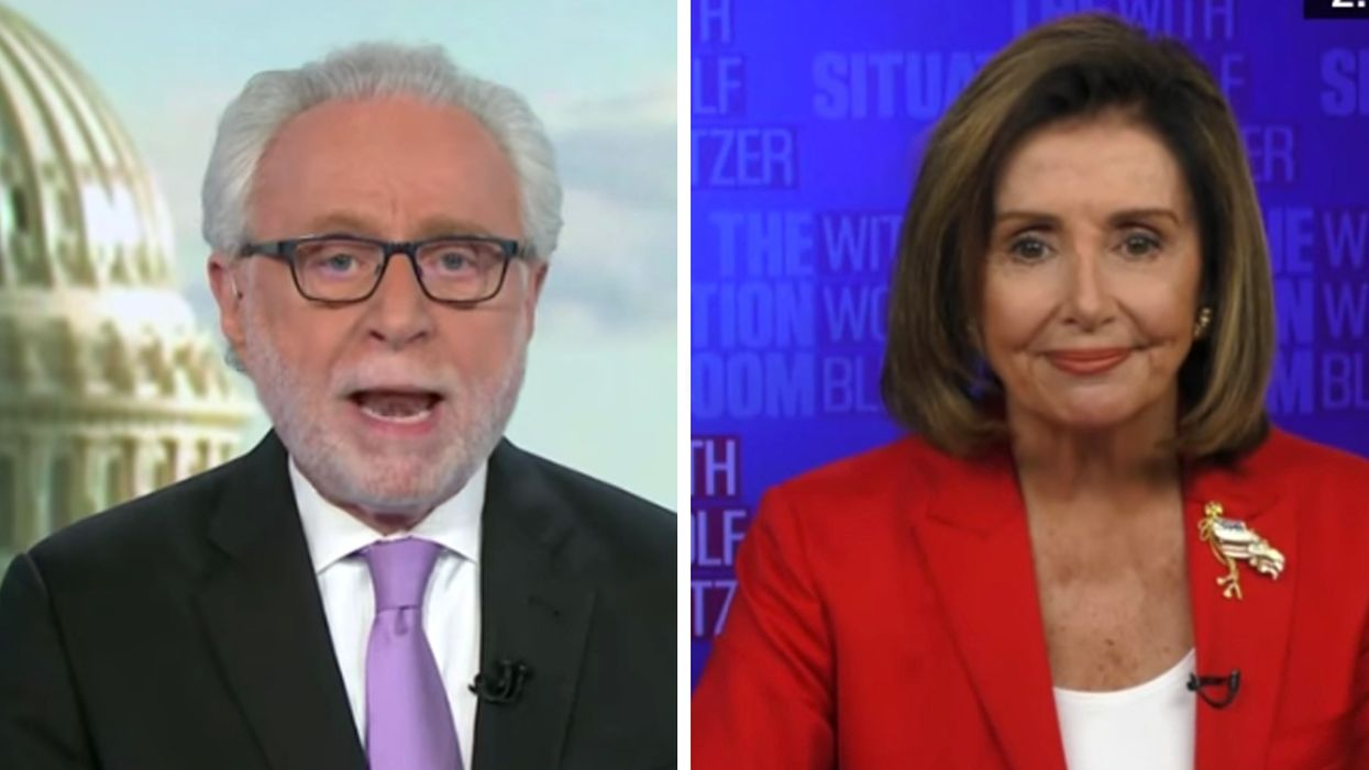 Pelosi calls Blitzer GOP 'apologist' on stimulus: 'You really don't know what you're talking about'