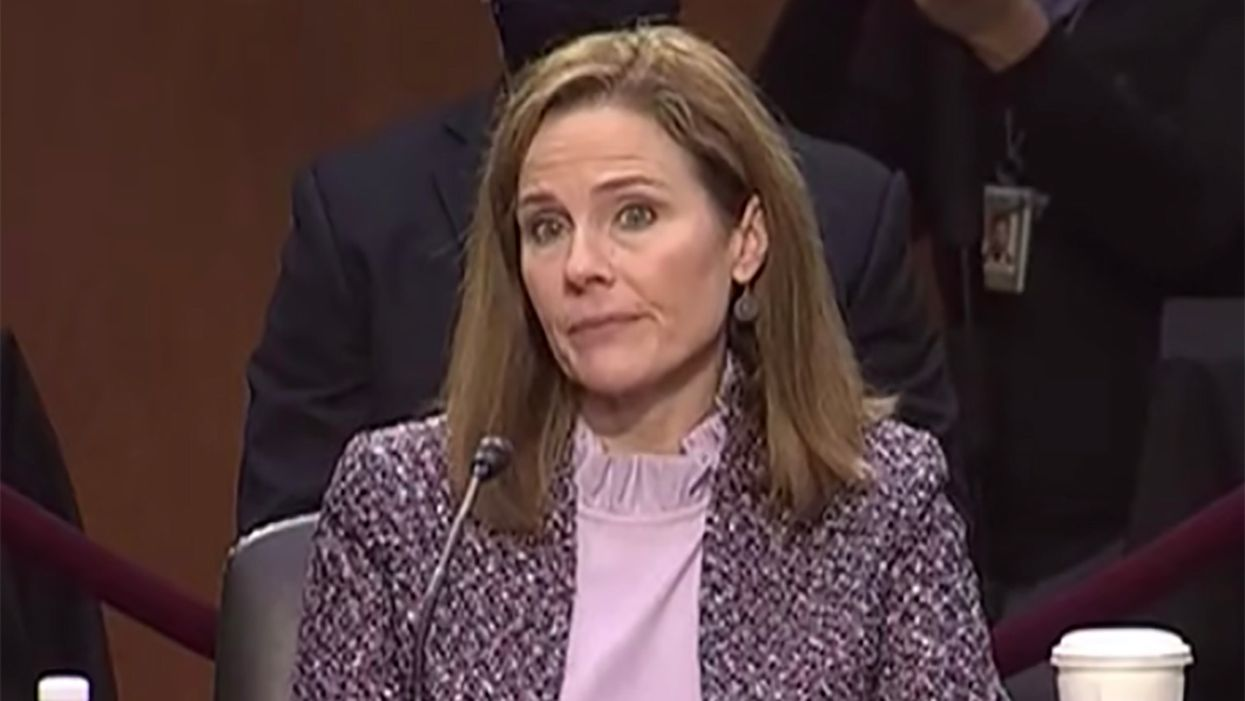 Amy Coney Barrett can't name the 5 freedoms in the First Amendment: 'What am I missing?'