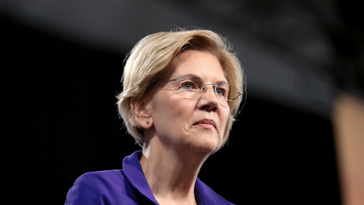 Elizabeth Warren condemns GOP vote on Barrett as 'last gasp of a desperate party'