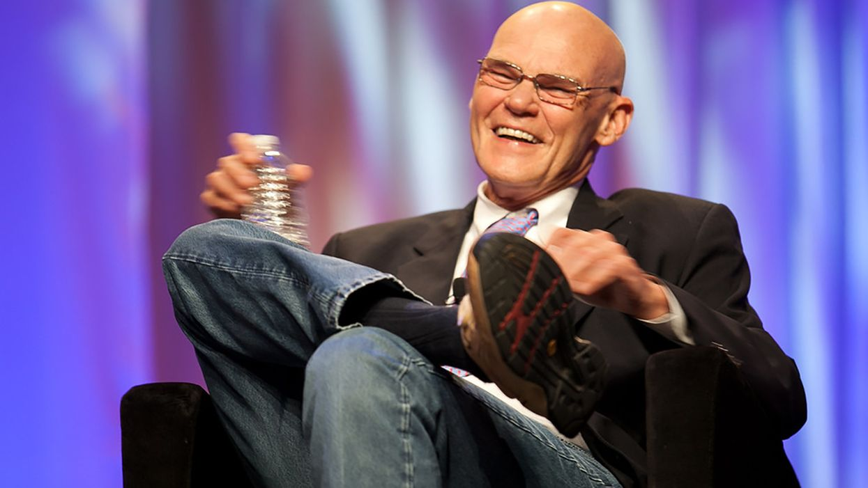 'Crusade for America': James Carville hopes Trump's 'catastrophic defeat' will end the country's darkest hour