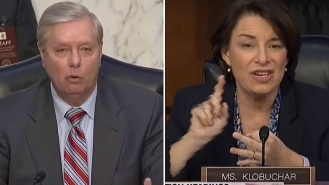 Lindsey Graham admits to Amy Klobuchar: 'Y'all have a good chance of winning the White House'