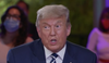 Trump's NBC town hall immediately goes off the rails as he berates the host