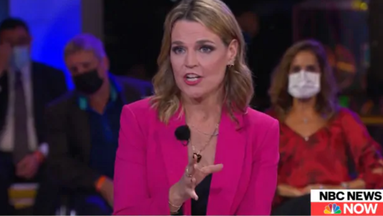 NBC's Savannah Guthrie praised for explosive Trump town hall for two big reasons