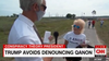 Watch: Trump rallygoers offer bizarre explanations to defend president's failure to condemn QAnon