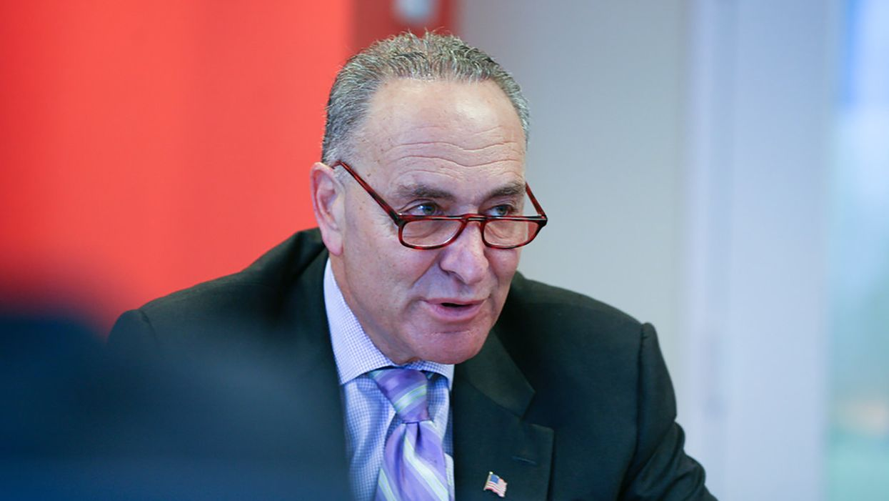 Senate Democrats try to save federal workforce from Trump's harebrained payroll tax scheme