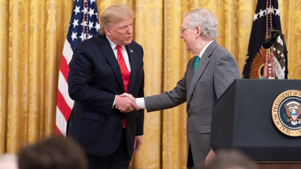 'The most powerful Republican in Washington?' McConnell's steamrolling of Trump on stimulus signals a 'shift' for GOP