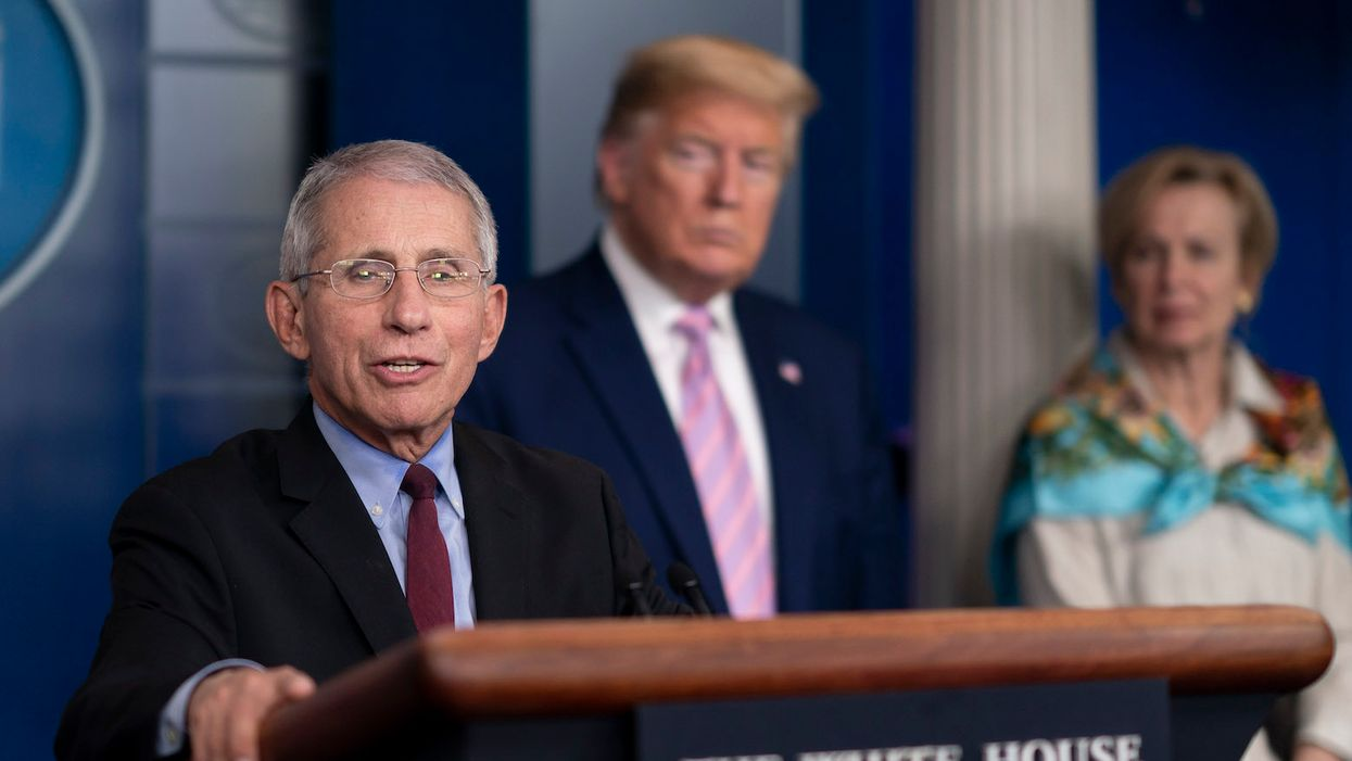 Trump lashes out at Dr. Fauci with a petty and personal smear