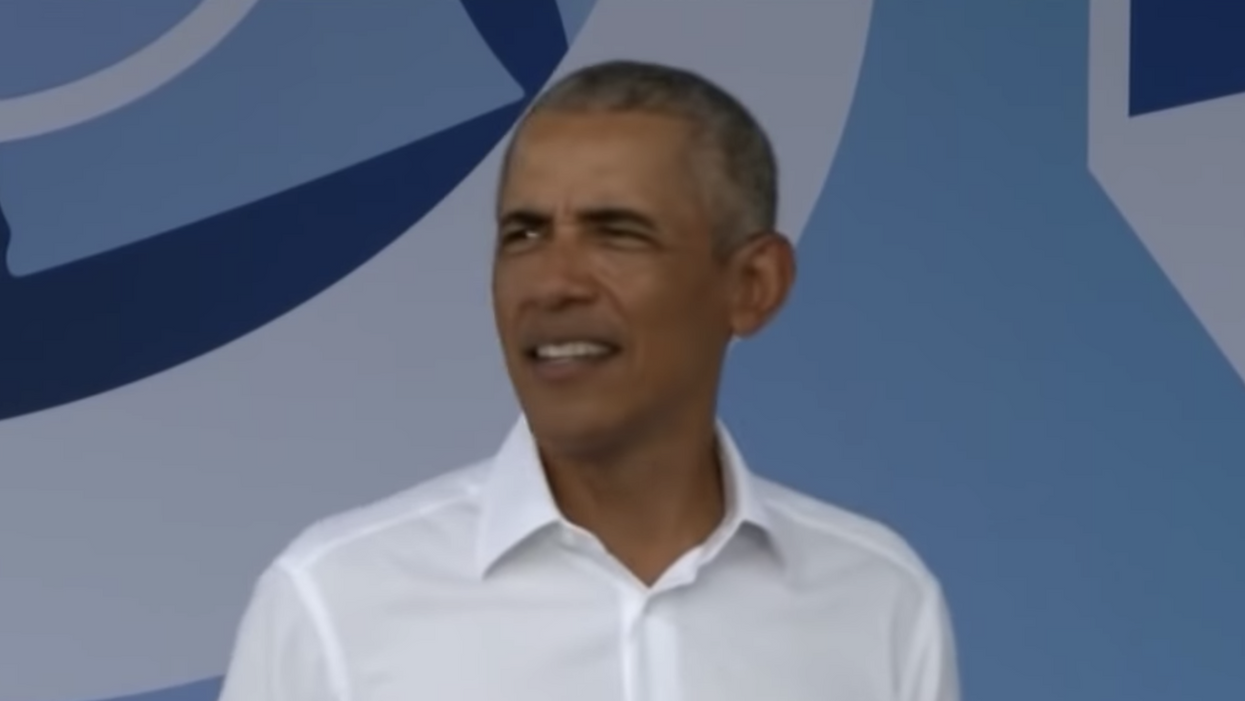 Here's how Barack Obama is brilliantly getting under Trump's skin on the campaign trail