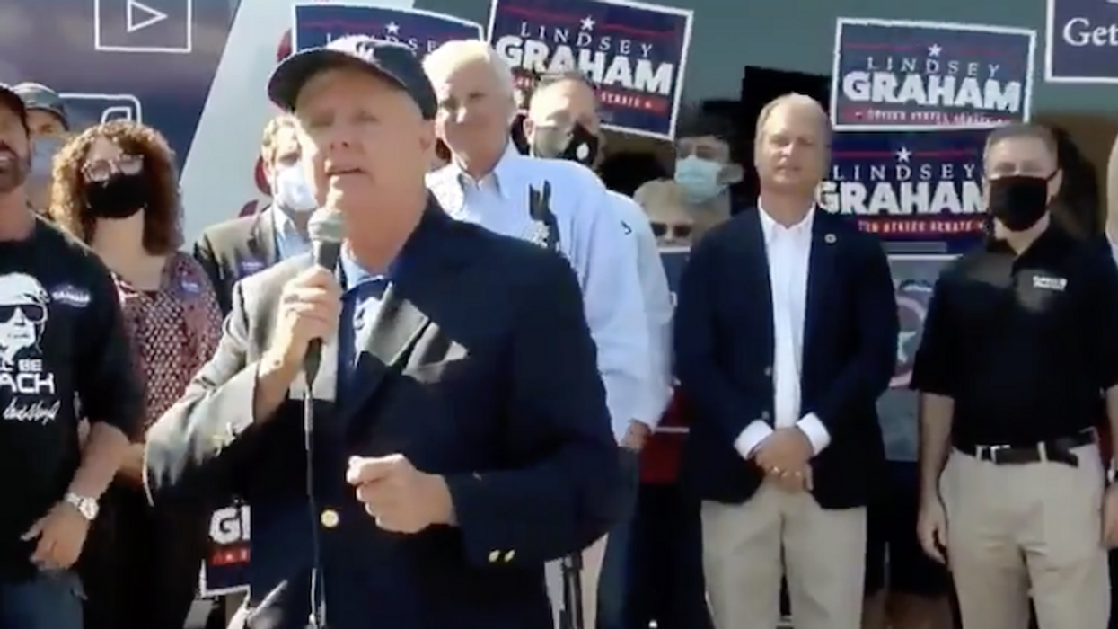 Lindsey Graham's closing message to women: 'There's a place for you in America' if you 'follow traditional family structure'