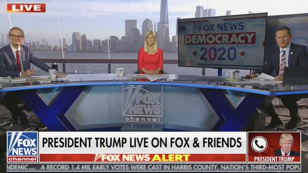 Fox News host worries 'a Republican president will never happen again' if mail-in ballots are widely used