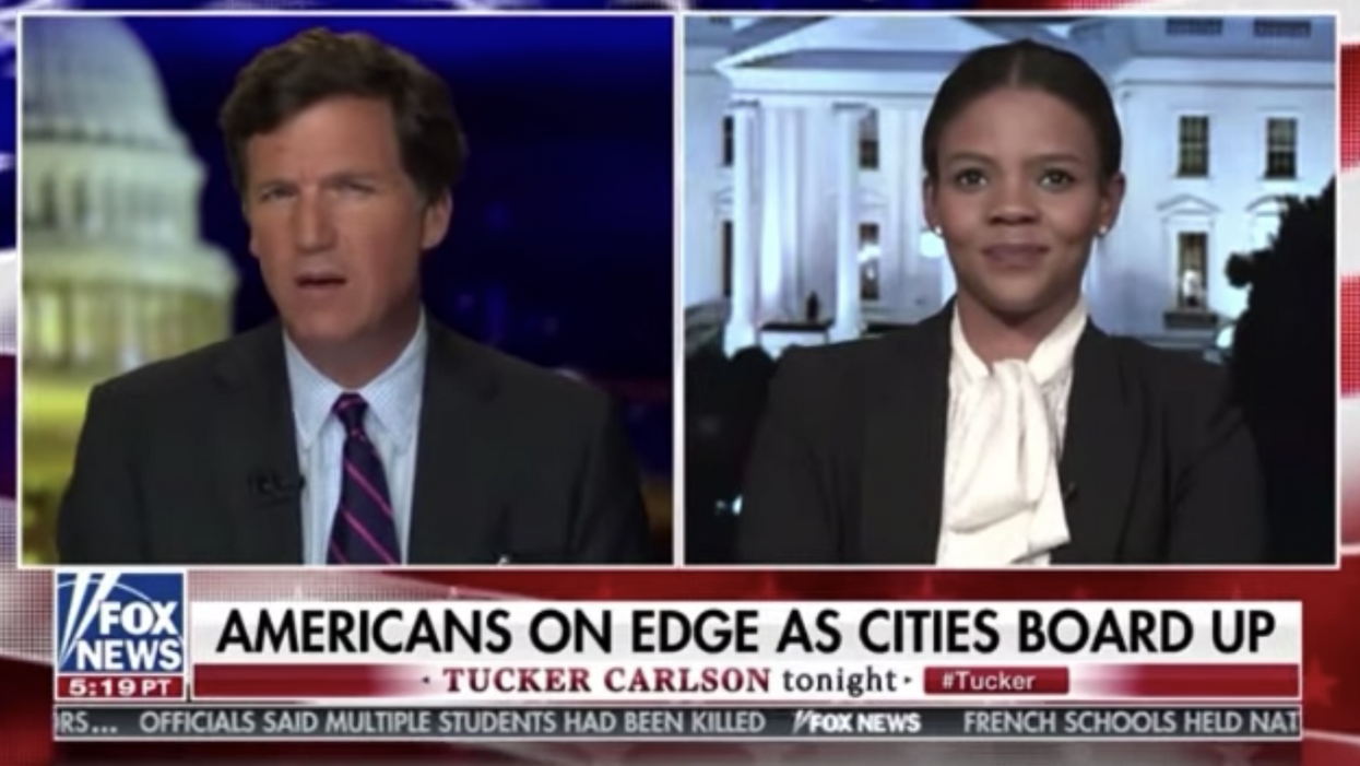 Tucker Carlson and his guest accidentally say the quiet part out loud