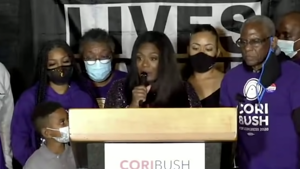 'Let's finally start thriving': Missouri's first Black congresswoman gives a speech for the ages