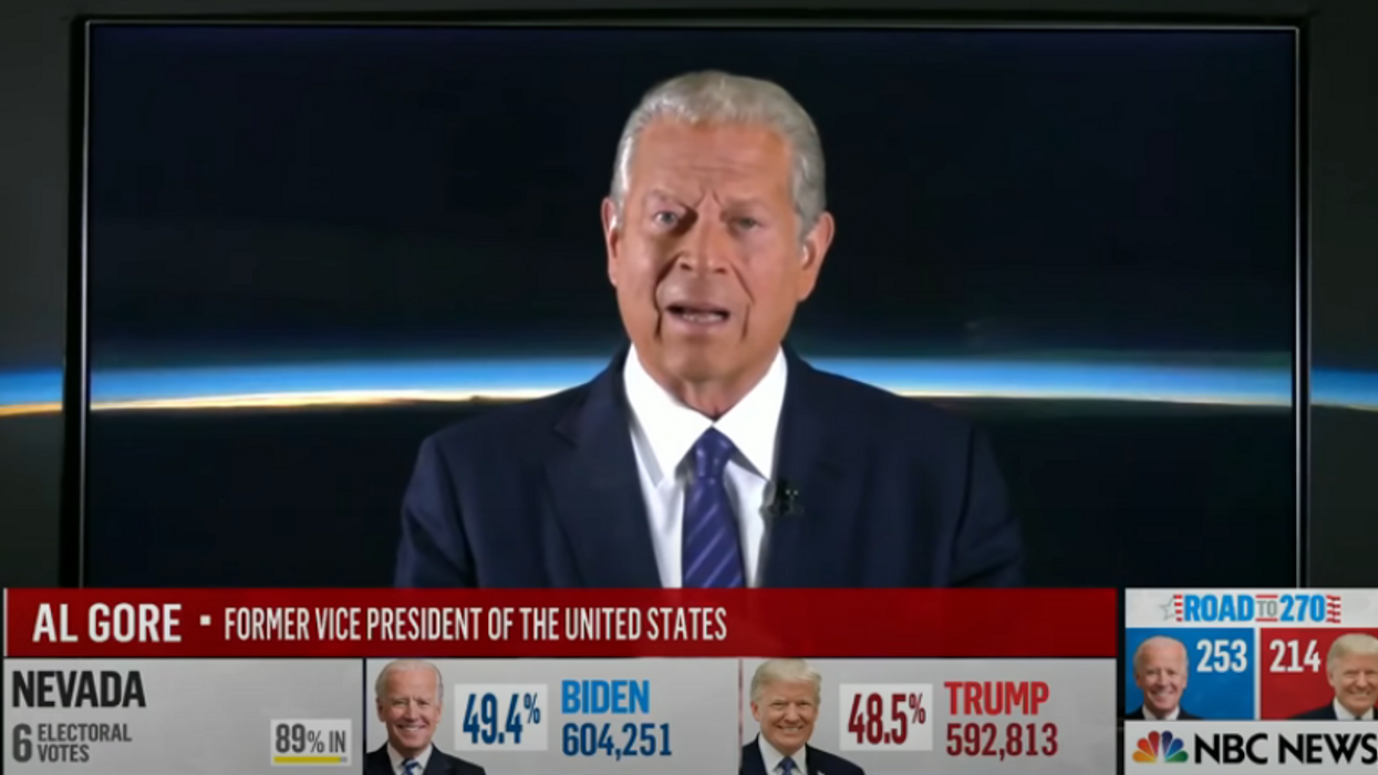 A 2000 election repeat? Al Gore explains why this election is a completely different animal