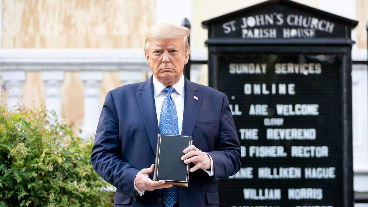 Donald Trump is hardly the 'Republican Jesus'