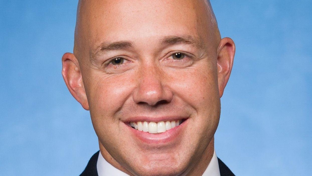 A rape joke scandal and a QAnon challenger create real danger for a GOP congressman