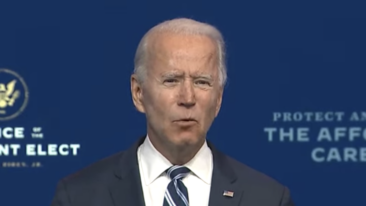 'It's an embarrassment': President-elect Biden scorches Trump for his refusal to concede