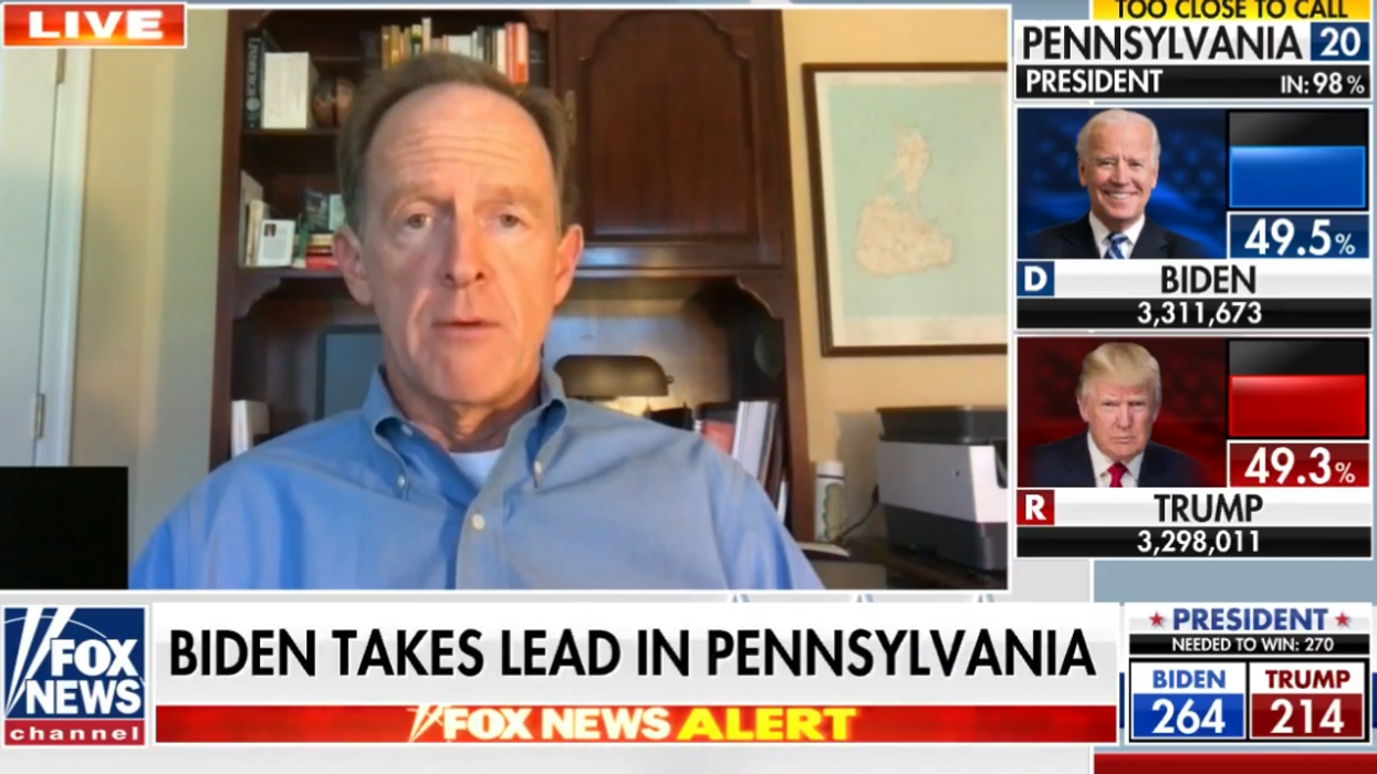 Pennsylvania GOP senator says Trump has 'exhausted all plausible legal options' as he urges cooperation on Biden transition