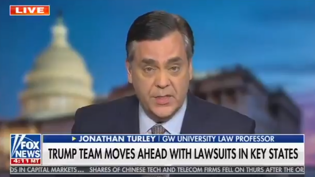 Fox News forced to correct legal scholar over humiliating and debunked election error claim