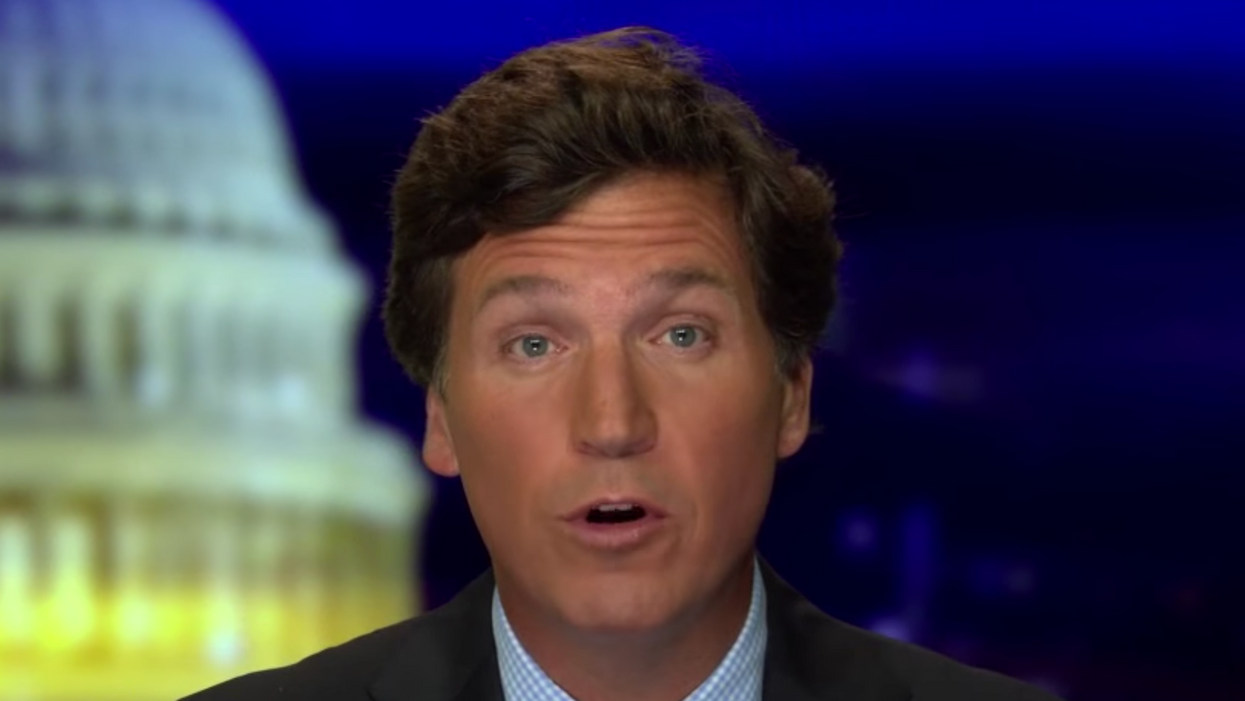 'She got angry': Tucker Carlson just exposed a Trump lawyer's sketchy charade in the most bizarre way