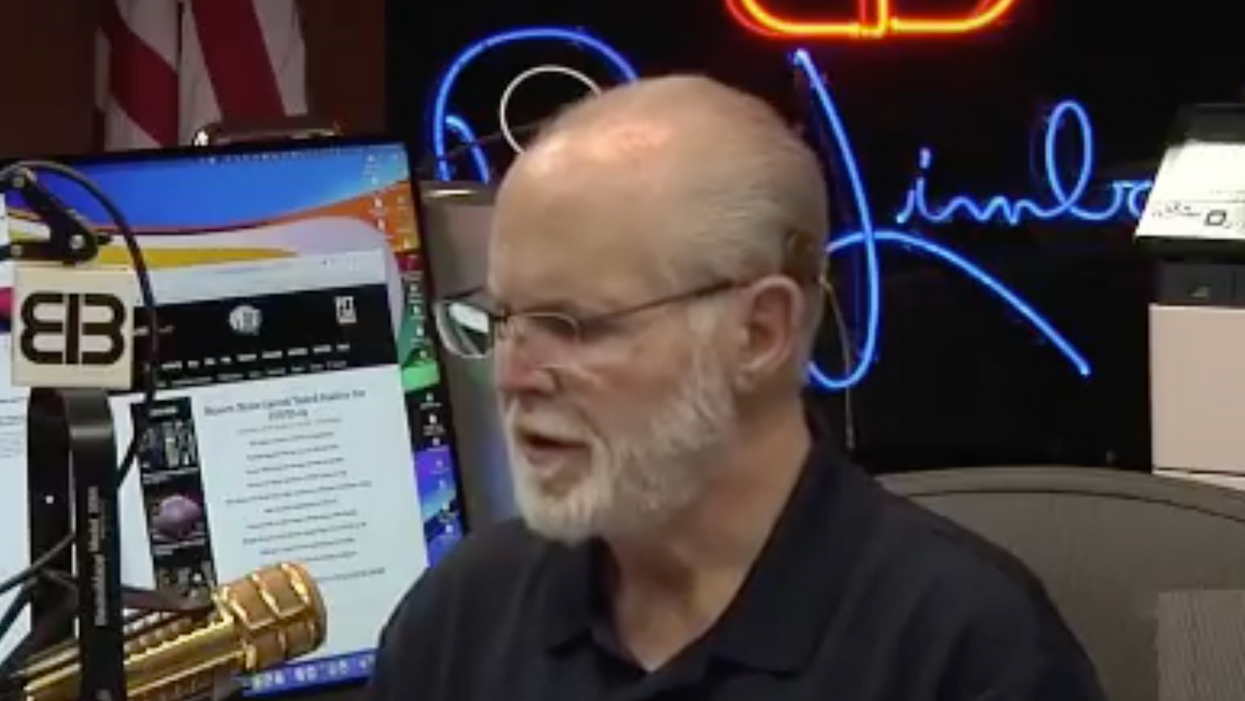 Watch: A distraught Trump supporter tells Rush Limbaugh says he 'will die for my president'