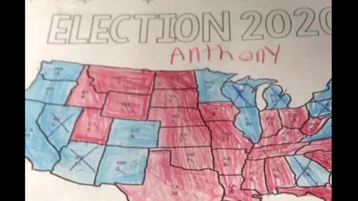 Watch this parent try to convince teacher that no one won the presidential election