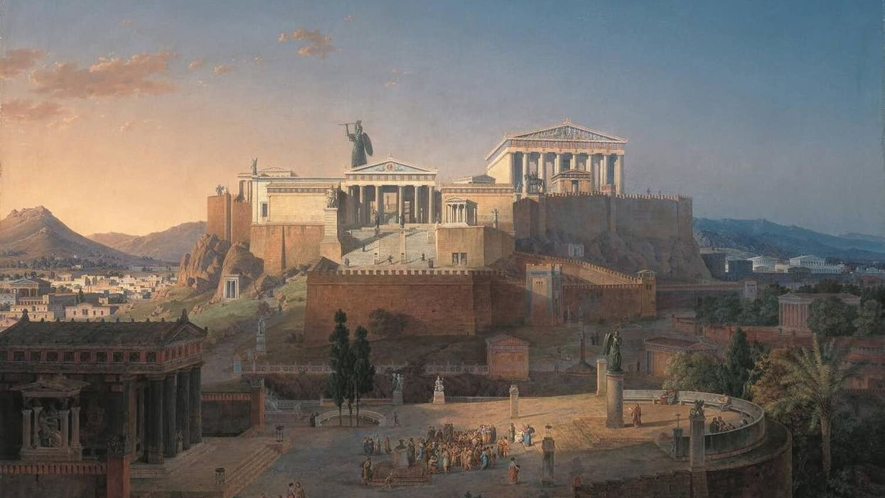 Only the richest ancient Athenians paid taxes – and they bragged about it