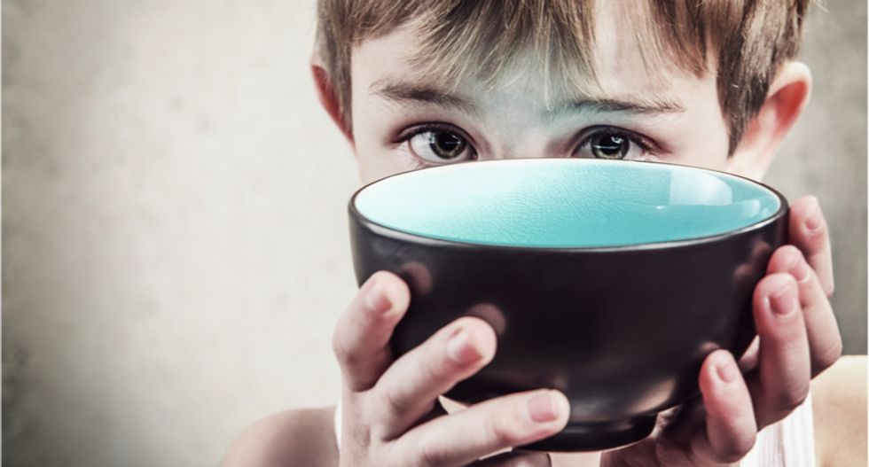 Food banks struggle as 1 in 6 families with children don't have enough to eat