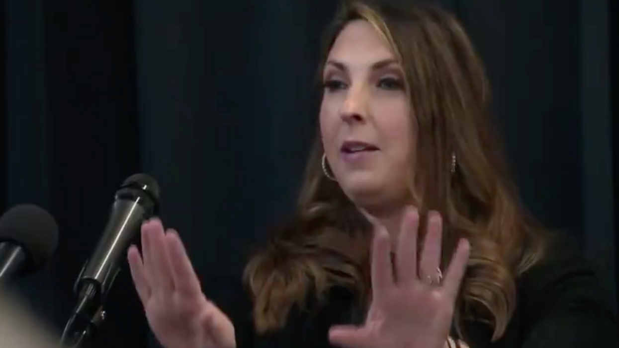 Watch: GOP voters corner RNC chair on why they should turn out in Georgia runoff 'when it's already decided'