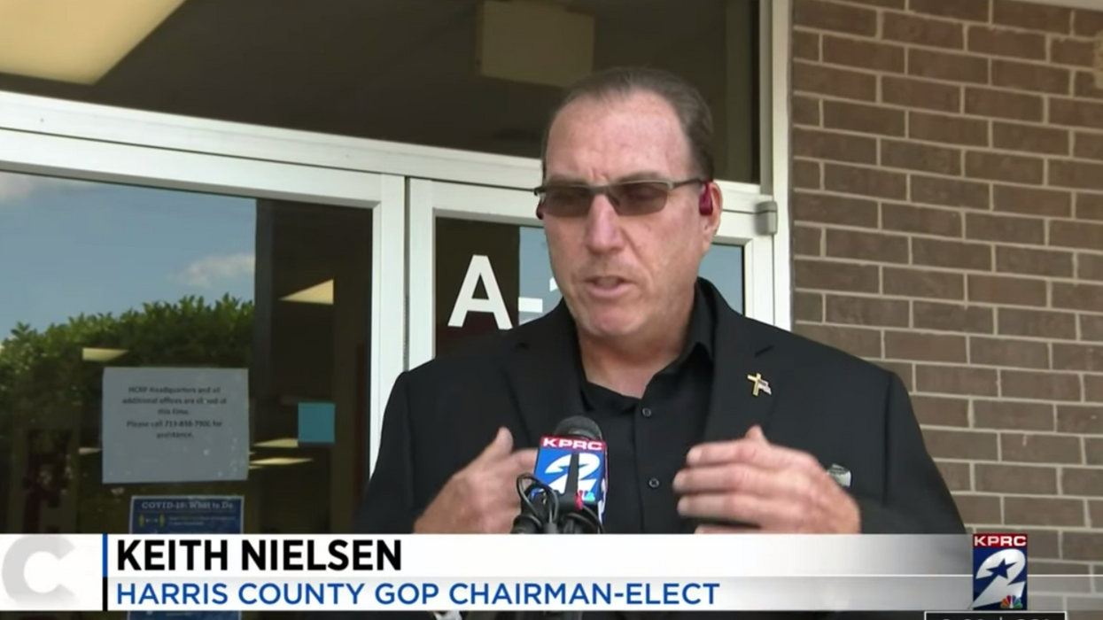 Texas GOP chair who assumed role after facing backlash for racist Facebook post resigns