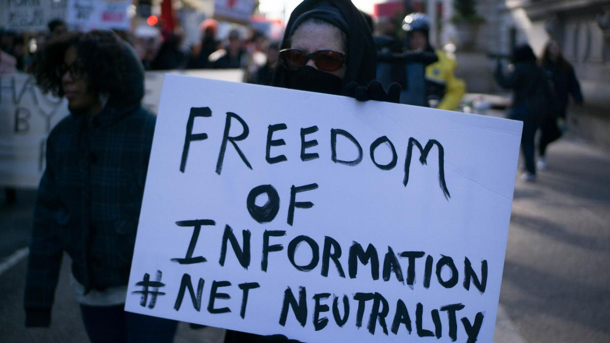 The fight to save net neutrality is back on