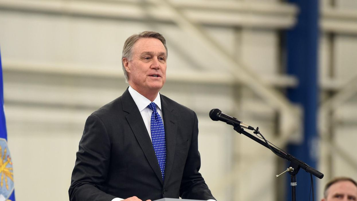 GOP Sen. Perdue bought Pfizer stock — a week before the company said it would develop a vaccine