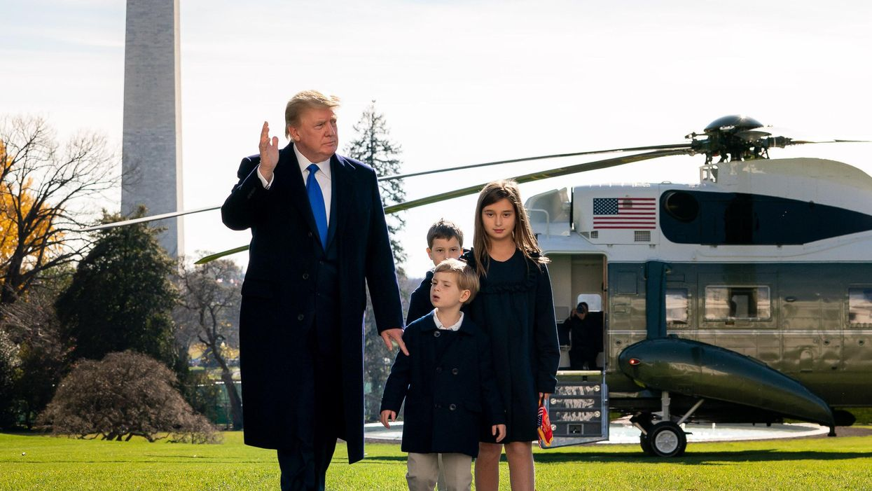 Trump ready to pardon his family and close aides -- but there's one major catch that's holding him back