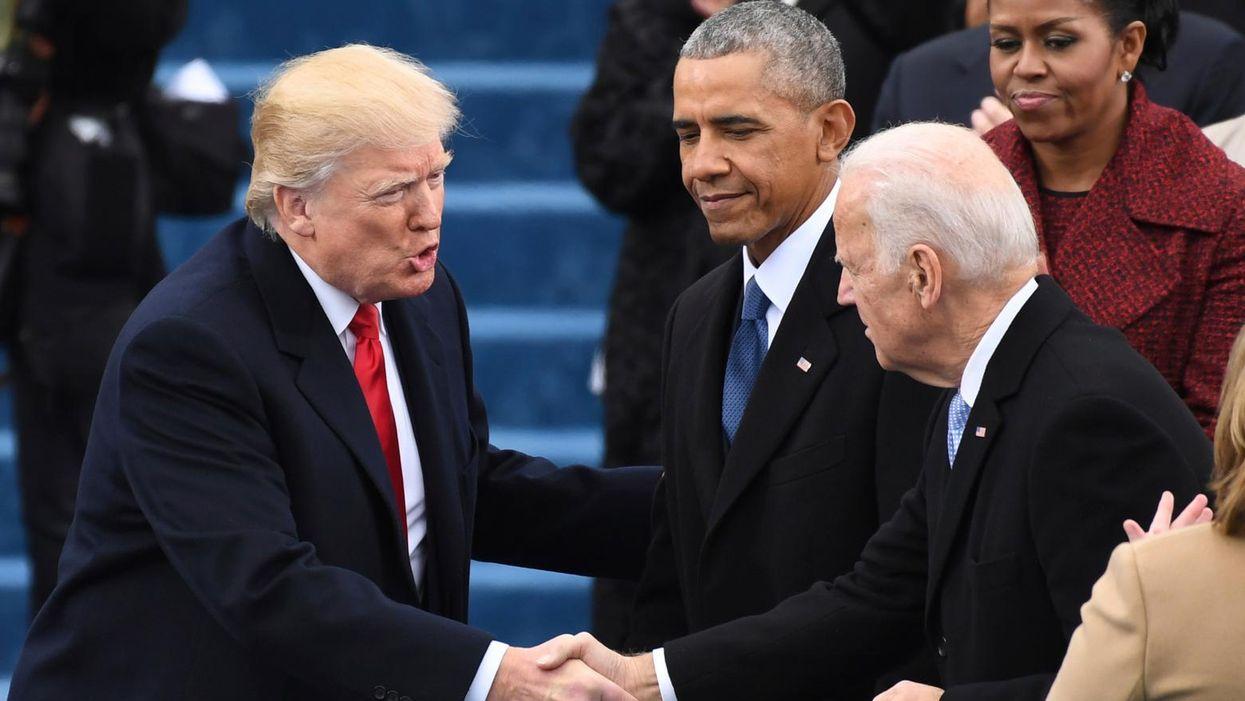 Sore-loser Trump reportedly won't attend Biden's inauguration or invite Biden family to White House