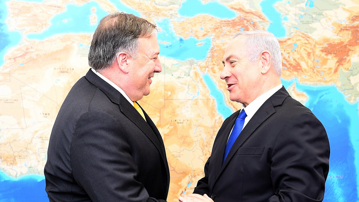 Rapture-prophesying Pompeo has Trump's approval to bully Iran as long as he doesn't 'start World War III'