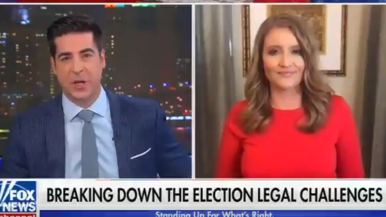 Trump legal adviser hypes 'promising' Pennsylvania case on Fox News — hours after judge tossed it out