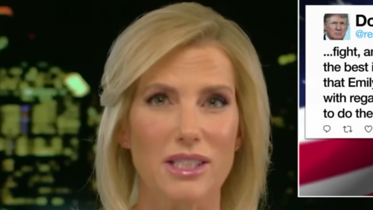 Watch: Fox News' Laura Ingraham finally tells her audience Trump's bid to stay in office has little hope