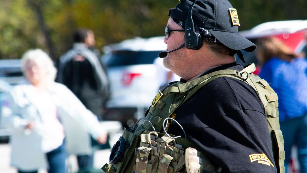 Far-right Oath Keepers are making disturbing inroads in this Texas county: report