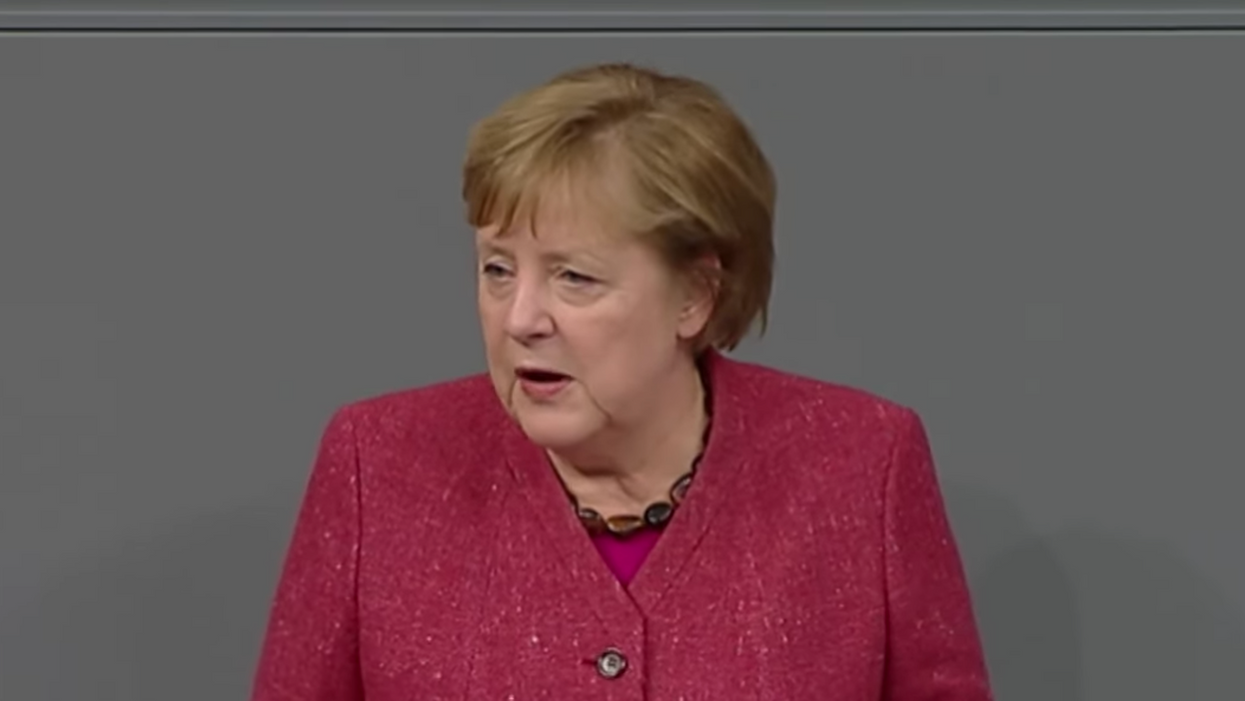 'From the bottom of my heart': Angela Merkel delivers a powerful speech on the importance of COVID safety