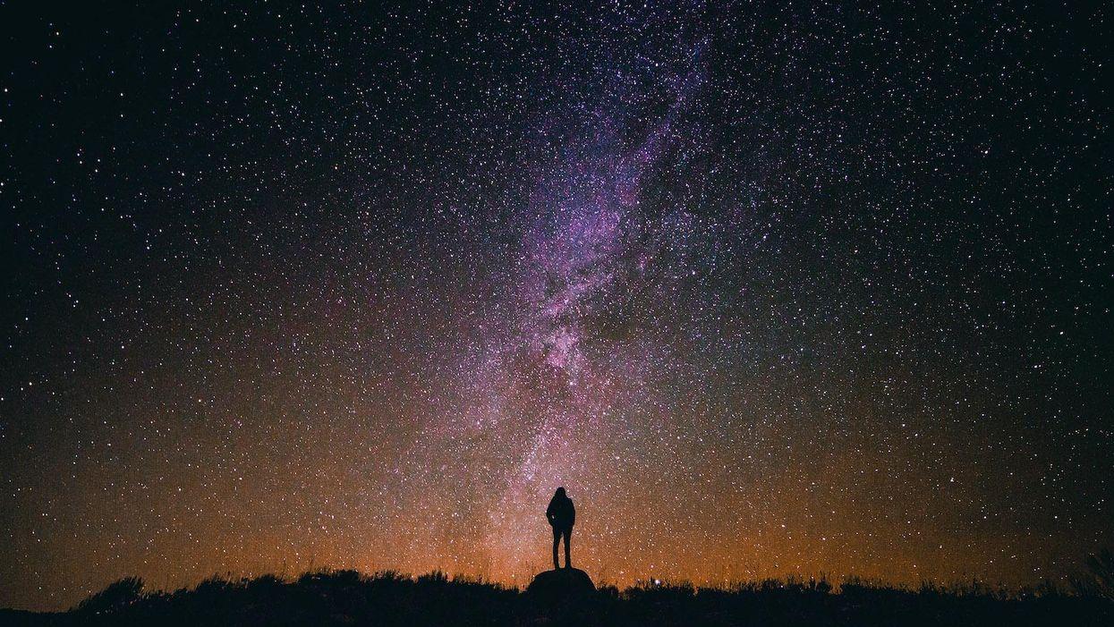 Milky Way, stars, galaxy universe, space