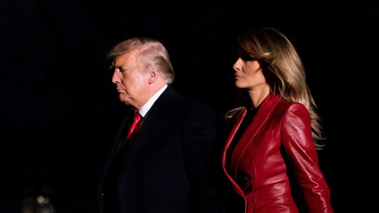 There's no comfort and joy in Melania Trump's bleak and impersonal Christmas decor