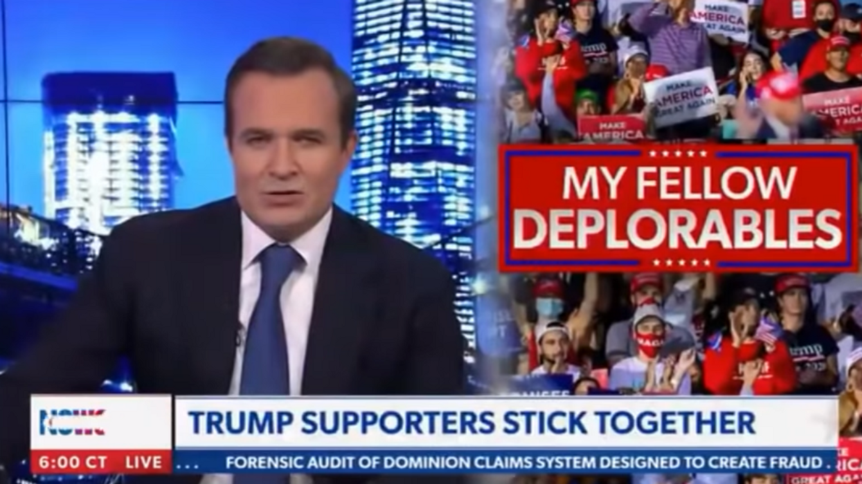 'Trump could be inaugurated': Newsmax's Greg Kelly breaks from network by refusing to accept Biden's victory