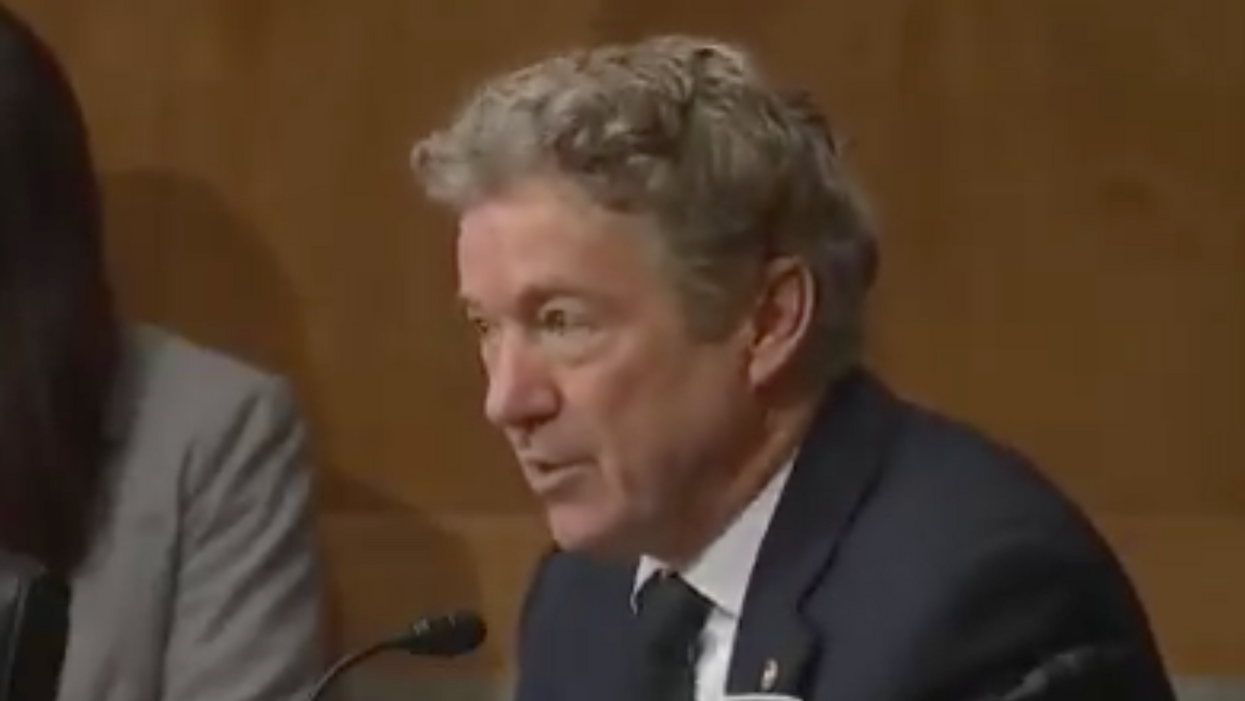 Rand Paul gets hammered after making bogus claim that the election 'was stolen'